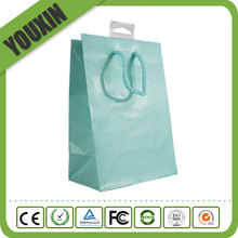 2017 Fashion Trend the Most popular Pastel Green Small Gift Paper Bag