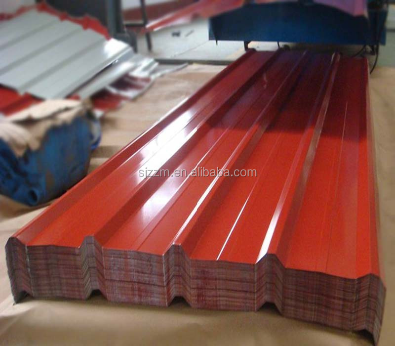 all types of long span iron ibr glazed mtal roofing sheet roofing tiles for houses