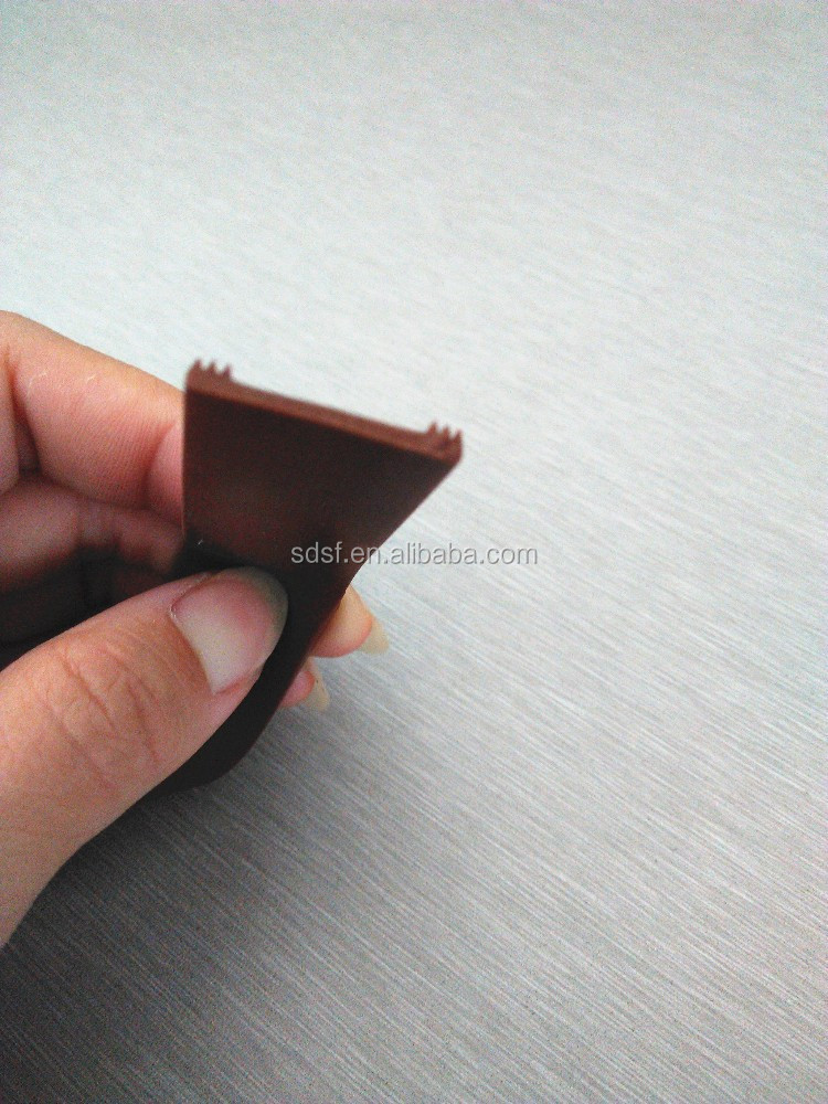 customized silicone weather strip brown silicone sealant