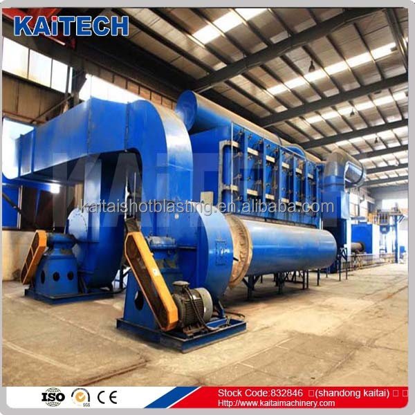 Steel Pipe Inner Wall Surface Descaling used Shot Blasting Machine