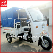 China passenger tricycle,tricycle car,3 wheel Gasoline Cargo 200CC Motor Tricycle With Canvas