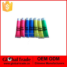 UV /Glow Face Paint Tubes in 6x30ml for party H0106