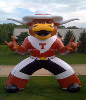 custom inflatable moving cartoon/inflatable mascot
