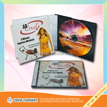 OEM service duplication/replication CD and DVD