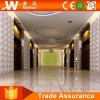 3D Wall Decor Paintable Wall Panels With Relief Plastic Exterior Wall Decorative Panel