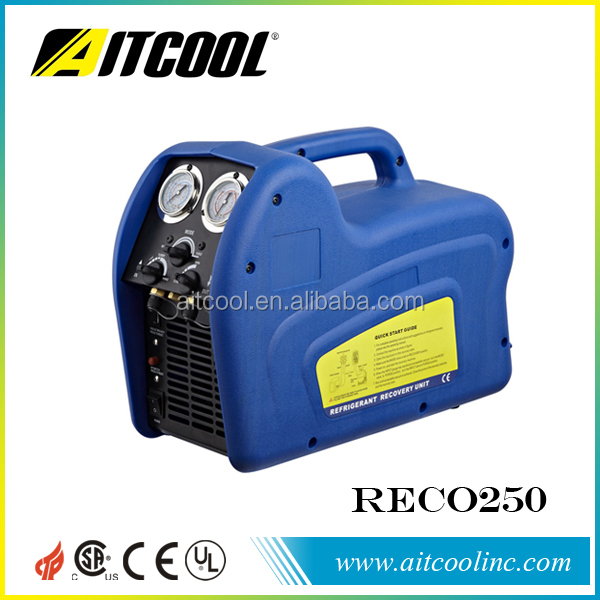 Refrigerant Recovery machine RECO250 with separate oil from A/C system