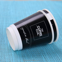 Double Wall Style Paper Cup/Double Wall Paper Coffee Cups/8oz small paper soup Cups Disposable