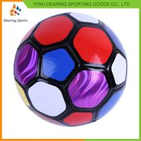 Factory Sale unique design hand sewing rubber soccer ball 2016