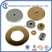 China cheap motor used n35H strong permanent ring magnet 50mm
