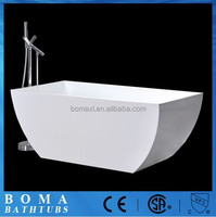 Acrylic Marble Stone Stainless Steel Bathtub for Dogs
