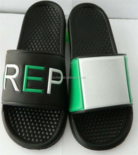 Custom made Men slide sandals cheap outdoor slipper beach flip flops