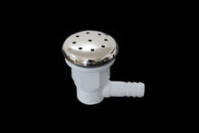 Spa Jet Replacement / Whirlpool Adjustable Bathtub Nozzle with Stainless Steel Face