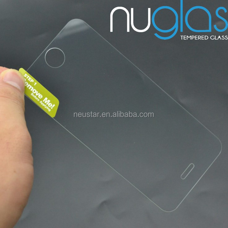 Gold Supplier 2.5D Anti-Glare Clear Scratch Resistant Cell Phone Tempered glass screen protector for iPhone 5 5c 5s