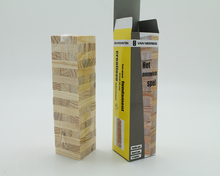 Creative wood Giant TOWER and jenga game for kids