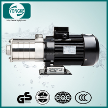 New popular stainless steel small horizontal multistage centrifugal water pump