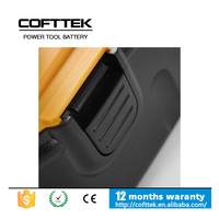 Replacement cordless dewalt 12v 3000mah NICD power tool battery