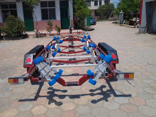 high quality easy loading long boat trailer trailer for sale