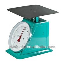 30/50/60 Flat Stainless Steel Mechanical Balance Scale