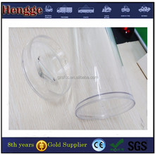 Clear Plexiglass PMMA Tube and Rods , Clear Acrylic Pipes