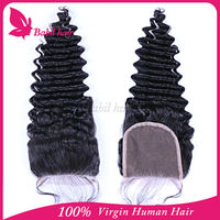 Wet And Wavy Weave Swiss Lace Closure 4x4inch 100% Cheap Virgin Brazilian Human Hair Lace Closure Deep Wave Hair
