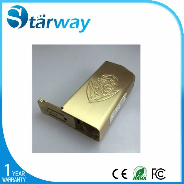 2015 new products Starway China Suppliers 18650 battery Clone Brass el diablo box mod
