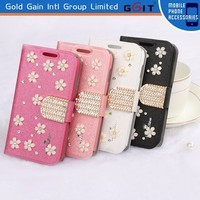 [GGIT] Factory Price Leather Cover Case for iPhone 4G