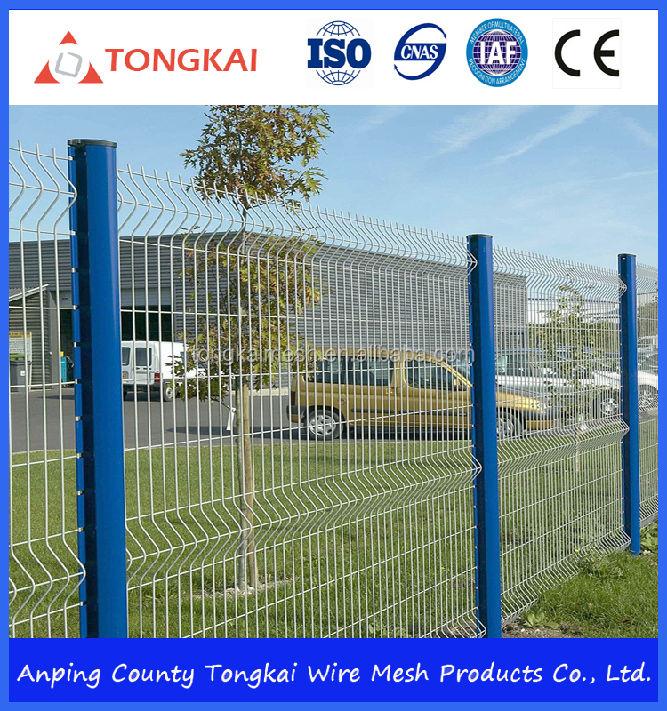 intruder-resistant security PVC coated Welded steel wire <strong>mesh</strong> for fence used