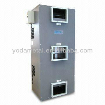 Outdoor floor standing metal enclosure electrical cabinet