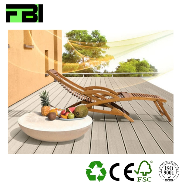 Ecological wood interlocking plastic floor tiles composite terrace floor