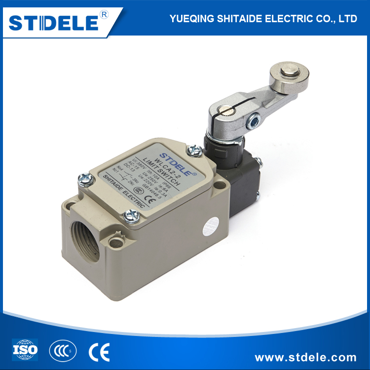 STDELE WLCA12-2-<strong>Q</strong> IP67 waterproof enclosed adjustable stainless steel roller lever type toggle limit switch
