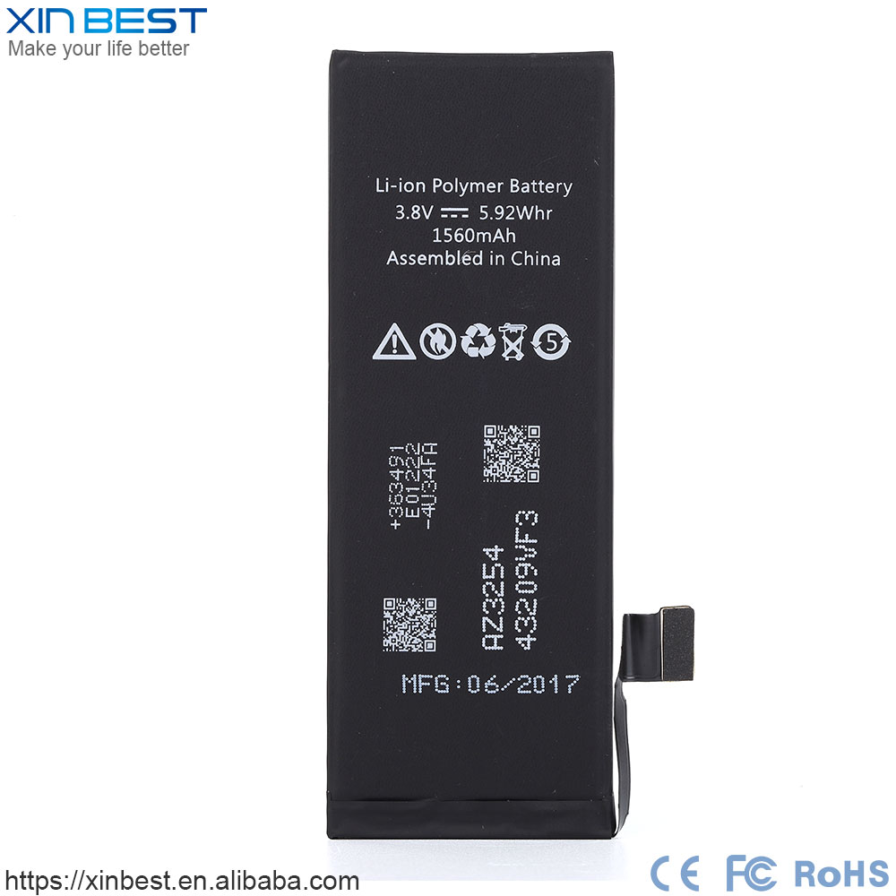 3.8V Nominal Voltage original quality replacement Li-ion battery for iPhone 5S