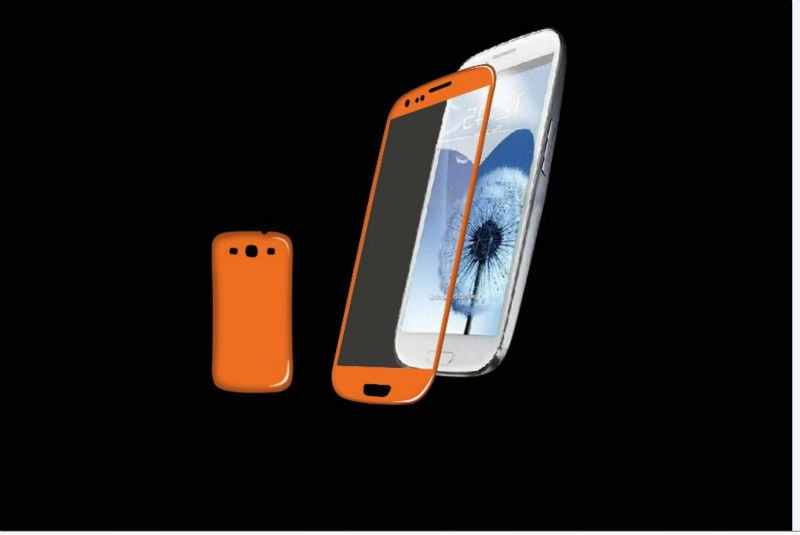 ultra clear skins clear front and back screen protector for samsung i9300 galaxy s3 guard cover
