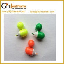 Promotional Mini Pill Shaped Highlighter Maker, Highlighter Pen