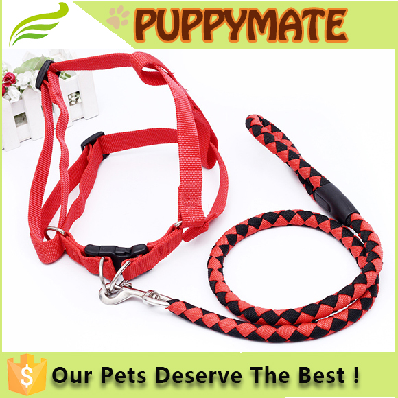 Good Quality Nylon Running pet Dog Leash Nylon Rope Dog Leash Pet Slip Trainning Leash