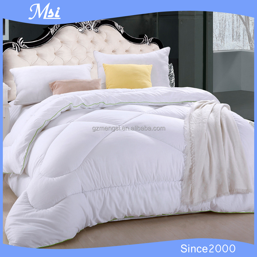 5 Star Hotel Used Soft and Warmer hot sale Luxury polyester Quilt