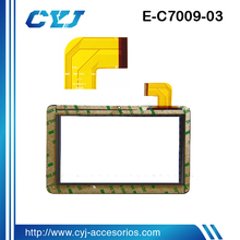 High quality touch screen display for tablet pc ,the replacement screen for android tablet for E-C7009-03