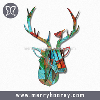 3D DIY Goat Wooden Crafts Gift Wall Paintings 3D Wall Decor