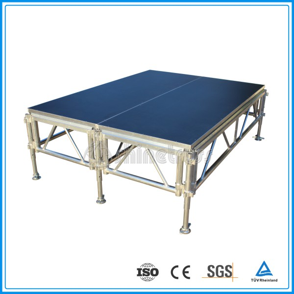 New design CE safety school assemble aluminum modular stage