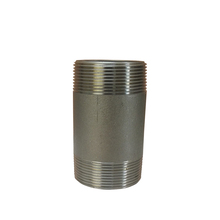 Customized Stainless Steel Threaded Fitting Close Taper Nipple