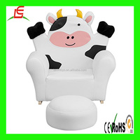 Plush Cow soft chair children's recreational cartoon fluffy animal sofa