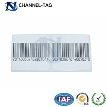 Self Adhesive EAS Anti-theft soft DR label EAS tag soft label for t-shirts