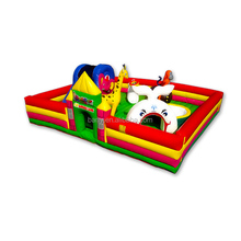 Hot selling 0.55mm PVC tarpaulin customized inflatable indoor playground on sale