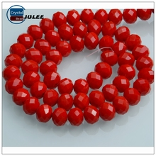 Fashion glass color seed bead in bulk japanese quality glass bead faceted rondelle beads wholesale for jewelry