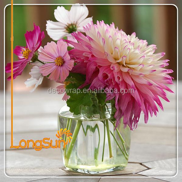 Pas cher bouquet de mariage r el tactile soie artificielle for Commande bouquet de fleurs pas cher