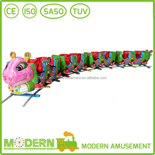 Theme Kids Amusement park Track Electric Trains For Sale