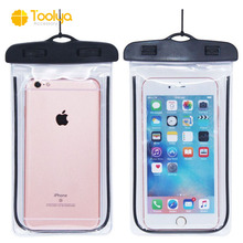 High quality universal mobile phone pvc waterproof bag pvc waterproof cell phone case