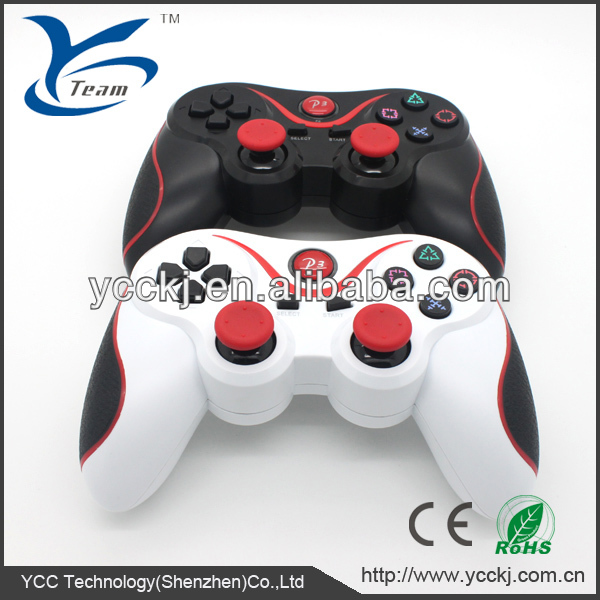factory price China supplier Bluetooth Wireless Controller six axis for SONY ps3 controller wireless receiver