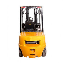 Manfacture 2 ton longer fork hand pallet truck four fulcrum electric fork lift truck truck with seat