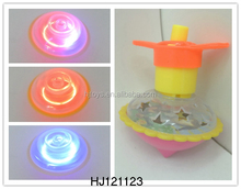 Wind Up Toy LED Spinning Top, Plastic Flashing Top Toy HJ121123