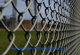 High quality Easy installation chain link fence panels/privacy slats for chain link fence from China